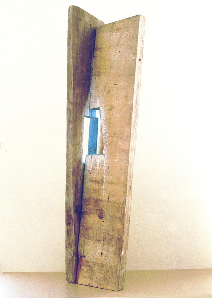 """Aus der Ausstellung """"Gewalt und Zeit"""", Werkladengalerie, Berlin, 1998"""