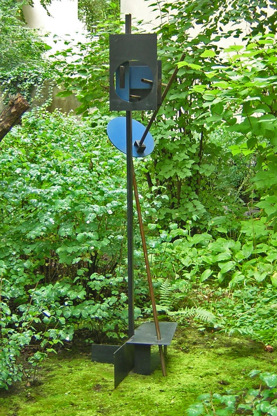 Signal 1962 Stahl zweifarbig, ca. 2,20 m